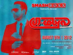 SMASHBOXX Ultra Club – THURSDAY Night Dance Party - 08.09.2012