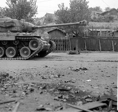 M26 Pershing, Patton Tank, Korean War, Ww2 Pictures, War Photography, Vietnam War, Seoul, Cold War, Usmc