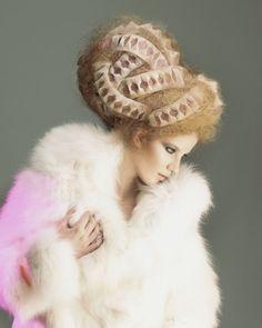 Avant garde hair by Chie Sato.