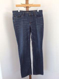 944bcde655 Eddie Bauer Jeans Womens Size 8 Boyfriend Relaxed Distressed #EddieBauer  #Boyfriend Eddie Bauer,