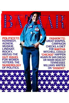 Harper's Bazaar January 1972. See all the best Americana looks from inside BAZAAR's pages here.