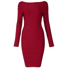Boat-Neck Red Bandage Dress H035R ($99, originally $118.8) http://www.udobuy.com/goods-12875.html#.UjfCqNL8m9M