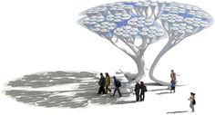 5 árboles artificiales que generan electricidad