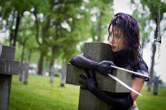 Hollyhocks as X-23 (X-Force)