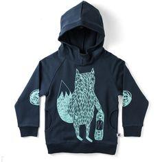 Pocket Hood Skate Fox