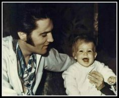 Elvis Presley a crazy and talented singer. He was an inspiration to many. Before his death Elvis and his wife, (at the time) Priscilla Presley. Elvis left us his great music and his only daughter Lisa Marie Presley.