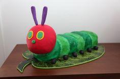 very hungry caterpillar cake1 1024x682 Very Hungry Caterpillar Cake