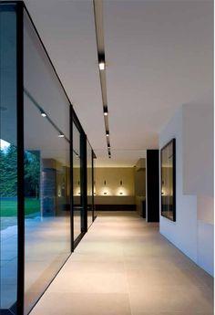 Great look for second floor hallway!