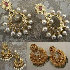 Unique Chandbalis by Neelkanth Jewelers | Jewellery Designs