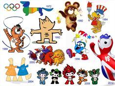 A little history of Olympic mascots