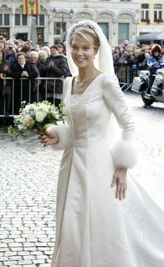 #Knowing the Royals: Archduchess Marie-Christine of Austria's wedding dress Collection dress #2dayslook # Collectionfashiondress www.2dayslook.com