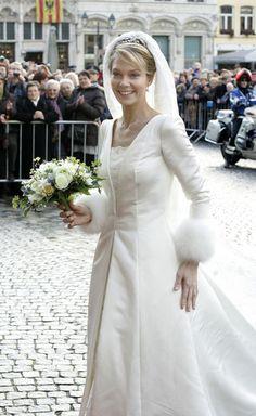 Archduchess Marie-Christine Of Austria & Rodolphe Of Limburg-Stirum Wed