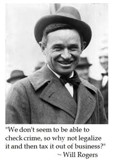 Will Rogers on Crime