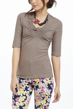 Twisted Sundial Tee - Anthropologie.com, Front