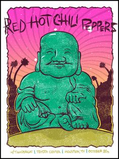 Red Hot Chili Peppers, Starfucker and Aerosmith Posters by Clint Wilson Rock Band Posters, Love Posters, Trippy Wallpaper, Iphone Background Wallpaper, Vintage Concert Posters, Vintage Posters, Tatto Ink, Hottest Chili Pepper, Pop Rock