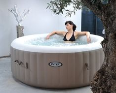 Pure SPA Aufblasbarer Whirlpool Intex 120 #SPA #Pools #Whirlpool #äußere # Aufblasbarer