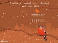 Fondos de pantalla con o sin el calendario de noviembre de 2014 : Recursos Gratis En Internet