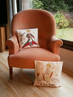 What a great idea... I want to make Little Prince pillows like this!
