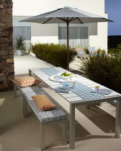 Warwick Fabrics, Outdoor Tables, Outdoor Decor, Satin Fabric, Drapery, Upholstery, Colours, Outdoor Furniture, Collection