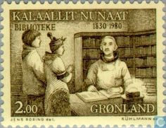 Greenland - Libraries 1830-1980 1980