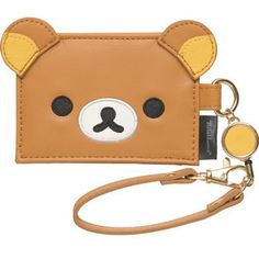 [Rilakkuma] pass case with reel (Relax) ★ Face series ★ PB44001