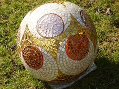 "Garden ball "" Viennese Walzer"" - Diameter 30cm or 12 inche… 