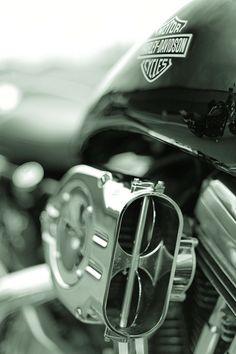 beautiful close up of a Harley-Davidson motorcycle. http://orlandoharley.com/ - #OrlandHarley #Harley #Orlando Harley-Davidson®