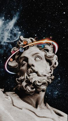 Your imagination could be fed with these breathtaking art designs, using art photography, art crafts, electricity art co Collage Kunst, Art Du Collage, Trippy Wallpaper, Galaxy Wallpaper, Wallpaper Art, Aesthetic Painting, Aesthetic Art, Art Vaporwave, Urbane Kunst