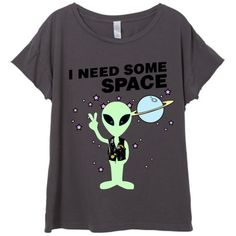 Womens Hipster I Need Some Space Sci Fi Shirt Trendy Tumblr Shirt Tee. d0018e30a73