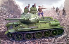 1945 T-34 _85 Berlin - Vincent Wai