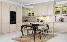 Klasszikus elegancia a konyhában - konyha / étkező ötlet, klasszikus stílusban