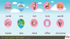 Yabancılara Türkçe öğretimi için D sesi içeren kelimeler