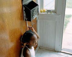 | GIRL AT MAILBOX, SYRACUSE, NY