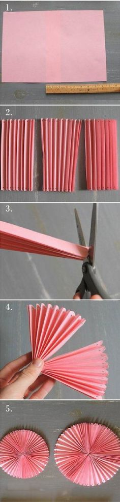 explication cocarde papier papier DIY tutoriel explication