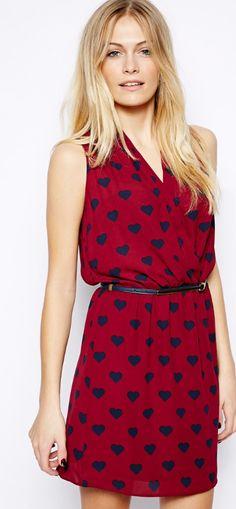 sweet little heart dress