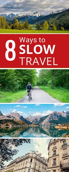 Do you wonder what the heck slow travel actually is? We share our philosophy and how to apply our 8 principles of slow travel to your next trip. #slowtravel #travel