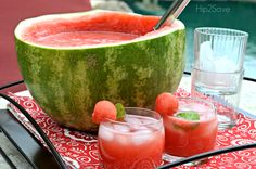Watermelon Punch - I'll add a SPIKE to mine with some vodka.  <3