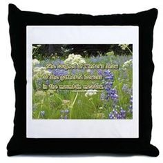 She Laughed At Winter's Snow Throw Pillow