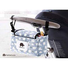 Schwarz Kinderwagentasche Buggy Bag Universal Aufbewahrungstasche Stroller Organizer Zubeh/ör f/ür Kinderwagen mit mit Getr/änkehaltern YZNlife Kinderwagen Organizer gro/ße Kapazit/ät