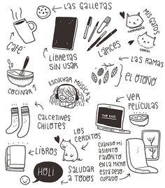 Cosas que amo <3 !