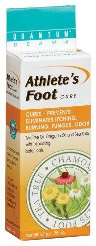 Quantum - Athletes Foot, .75 oz cream by Quantum. $8.65. Quantum Health Athlete's Foot Cure 21 Grams