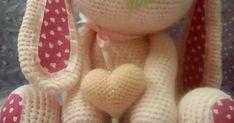 Blog sobre patrones gratis de tejidos al crochet y amigurumi Baby Knitting Patterns, Amigurumi Tutorial, Chrochet, Free Pattern, Diy And Crafts, Bunny, Kitty, Projects, Tejidos