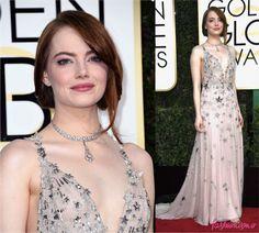 Golden Globe 2017: Emma Stone - Fashionismo