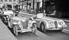 British Sports Cars on the Streets of Pittsburgh, Pennsylvania | The Old Motor