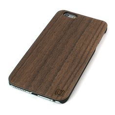 Dark Wood iPhone 6 Plus Case and Dark Wood iPhone 6S Plus Case by Dockem; Black Plastic Snap-on Base with Real Dark Walnut Wooden Finish Overlay - for iPhone 6 Plus and iPhone 6S Plus, http://www.amazon.com/dp/B017N1IMOY/ref=cm_sw_r_pi_awdm_W1eCwb0NSX5ZD