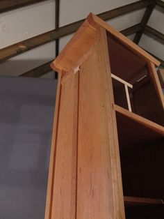 Tall Narrow Armoire Cabinet: In Cherry By MokuzaiFurniture On Etsy