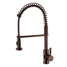 Yosemite Home Décor YP2814A-ORB Spring Pull-Out Kitchen Faucet at ATG Stores