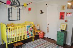 nursery ideas  ... window as art/ photo frame