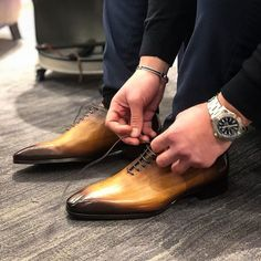 Anyone with even a passing acquaintance with our shoe will know that they are the very embodiment of multiple qualities. Firstly it's quality and secondly it's style.  The oxford wholecut is elegant shoe. The Wholecut Oxford shoes features neither a leather cap over the toe box not does it have broguing. This type Oxford is considered the most formal among the various types of oxfords.  These wholecut Oxford has tradition and craftsmanship epitomising the uncompromising type of high-end…