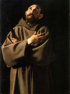Caravaggio's St Francis - this takes my breathe away!